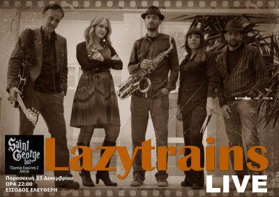 Lazytrains live at Saint George Bar