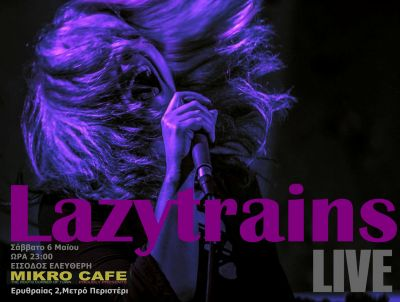 Lazytrains live at Mikro Cafe