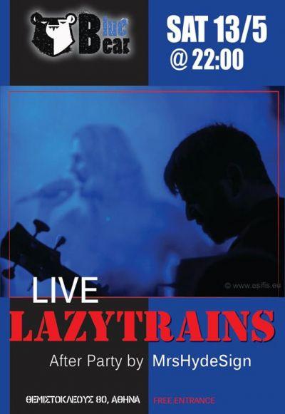 The Lazytrains Live at Blue Bear Bar