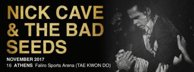 Nick Cave and the Bad Seeds live in Athens