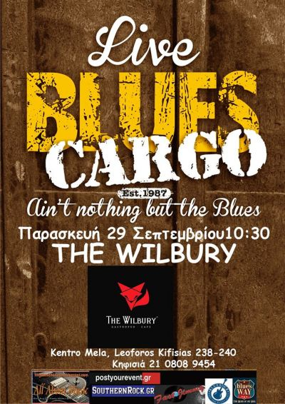 Blues Cargo live at the Wilbury