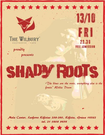 Shady Roots live @ The Wilbury