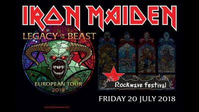 ROCKWAVE FESTIVAL 20.07.2018: Iron Maiden