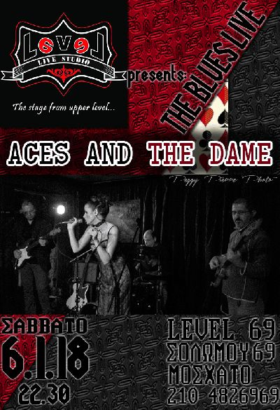 Aces and the Dame live at Level69 Live Studio