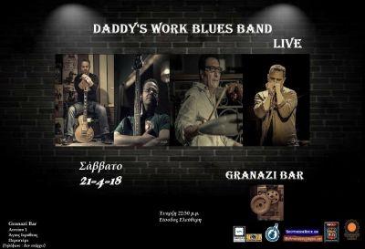 Daddy's Work Blues Band Live at Granazi Bar