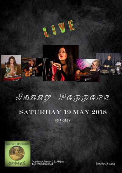 Jazzy Peppers Live @Orfeas!