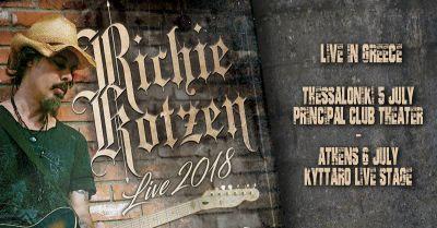 Richie Kotzen στην Ελλάδα ! Αθήνα και Θεσσαλονίκη τον Ιούλιο !