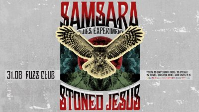 Samsara Blues Experiment + Stoned Jesus live in Athens 31/8/18