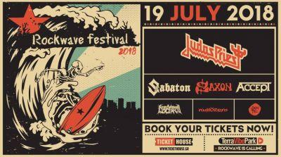 ROCKWAVE FESTIVAL 19.07.2018 Judas Priest, Saxon, Accept