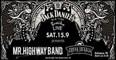 Mr Highway Band & Drunk Jackals Live at Βινυλιο