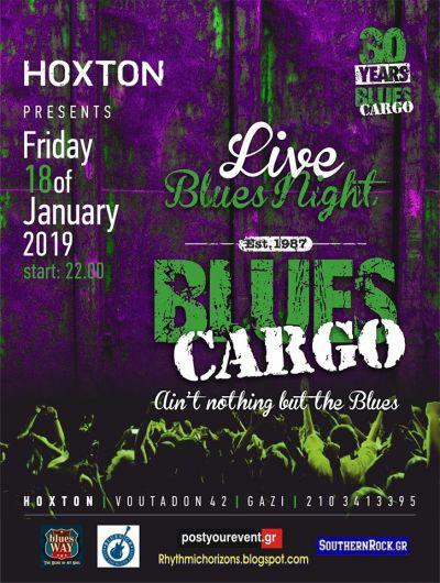 Blues Cargo at Hoxton 18/1