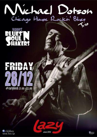 Michael Dotson + Blues'NSoulShakers