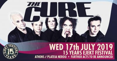 Ejekt Festival 2019: The Cure, +more acts tba 17/7
