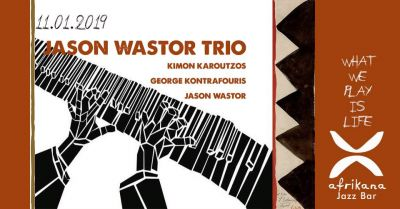 Live at Afrikana : Jason Wastor Trio 11/1