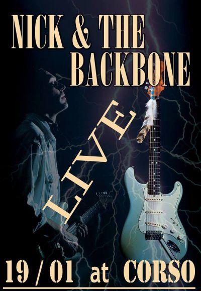 Nick and the backbone LIVE at CORSO 19/1