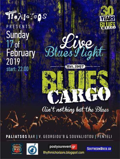 Blues Cargo live at Paliatsos 17/2