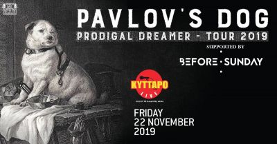 Pavlov's Dog Παρασκευή 22 Νοεμβρίου, Κύτταρο, Αθήνα