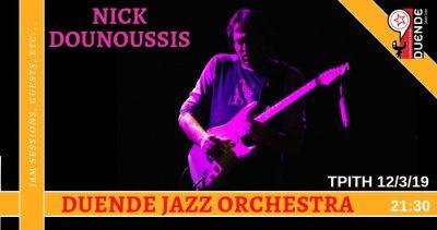 Nick Dounoussis & Duende Jazz Orchestra 12-03-2019 @Duende