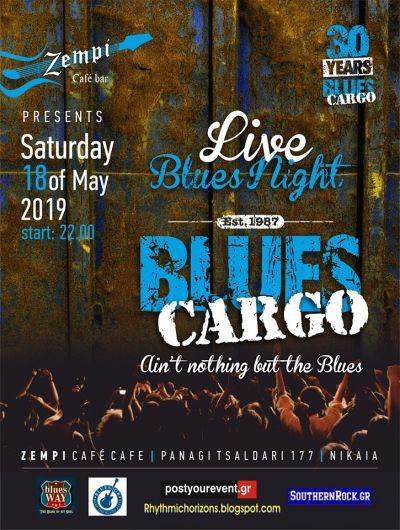 Blues Cargo at Zempi Cafe Bar 18/5