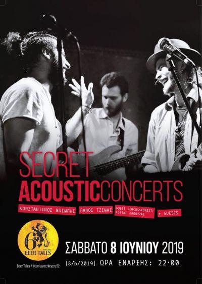 Secret Acoustic Concerts 8/6