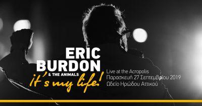 Eric Burdon and The Animals | Ωδείο Ηρώδου Αττικού 27.09.2019