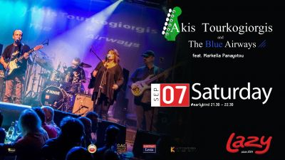 Akis Tourkogiorgis and The Blue Airways 7/9