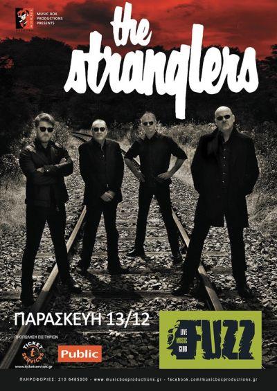 Live Gig - Fuzz Club, Athens, Greece The Stranglers 13/12