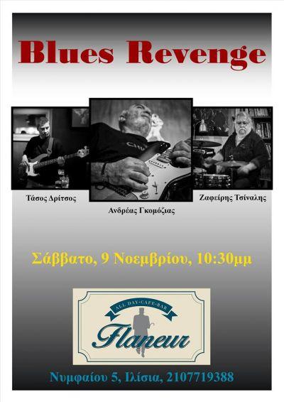 Blues Revenge live at Flaneur 9/11