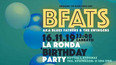 Blues Fathers & the Swingers LIVE at La Ronda 16/11