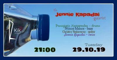 Jennie Kapadai quartet live at Kik 29/10