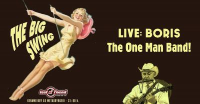 The Big Swing Live | Boris: One Seater Orchestra 2/1