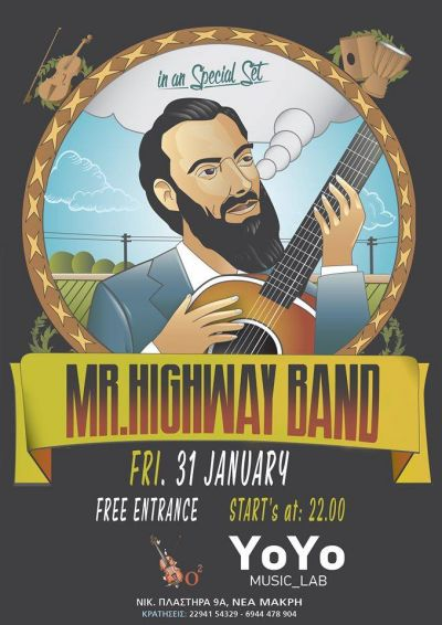 Mr. Highway Band at YoYo Music Lab 31/1