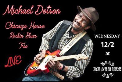 Michael Dotson Chicago Houserockin' Blues trio 12/2